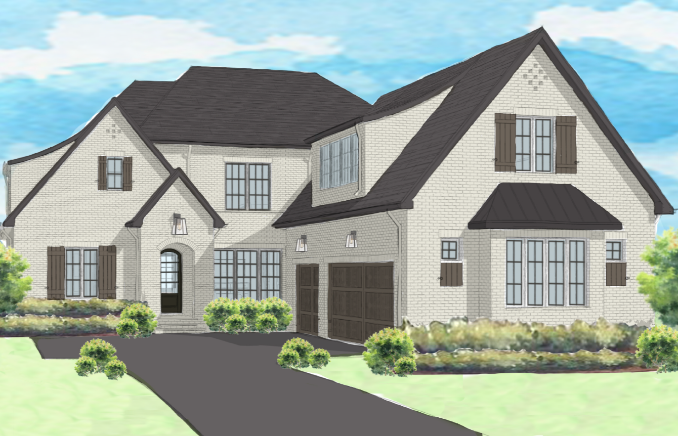 Front Rendering - 3623 Quail View Road