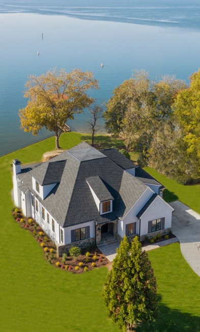 Single Family Home | Windsor Pointe | Overhead View